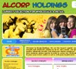 website design of alcorpholdings.com