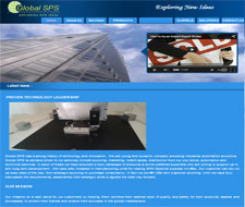 global sps service website design